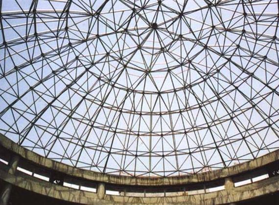 【解构】网架结构杆件加固实例
