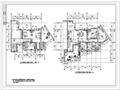 某四季花城住宅楼建筑施工图含效果图(包含
