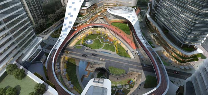 重庆中建·耐德山花商业综合体