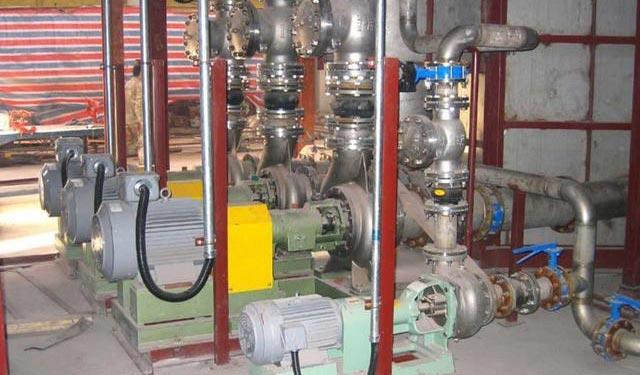 中央空调水系统水泵的安装