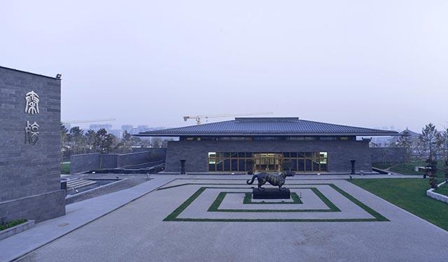 西安秦二世陵遗址公园建筑景观设计
