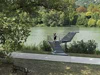 法国索恩河畔公园设计