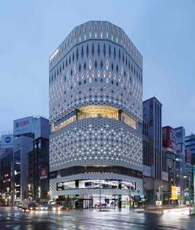 日本银座 Ginza Place 设计