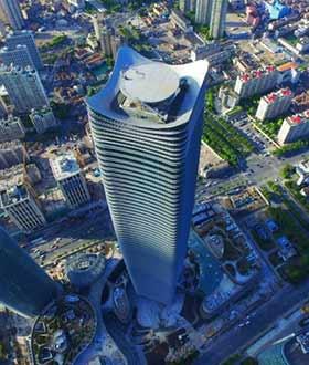 浦西第一高楼—上海白玉兰广场