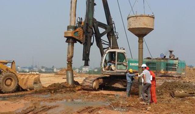 水利工程钻孔灌注桩施工常见问题