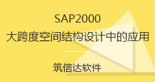 SAP2000在大跨度空间结构设计中的