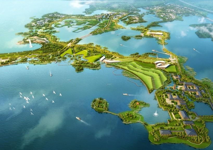 武汉东湖风景名胜区,是中国最大的城中湖风景区之一,落雁片区是武汉